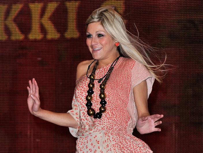 Nikki Grahame enters the Ultimate Big Brother 2010 House at Elstree Studios on August 24, 2010 in Borehamwood, England.  (Photo by Gareth Cattermole/Getty Images)