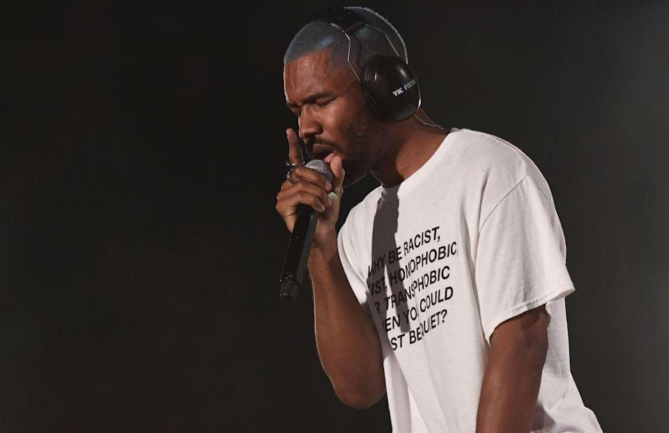 Frank Ocean performs at the 2017 Panorama Music Festival in New York (AFP/Getty)AFP/Getty Images