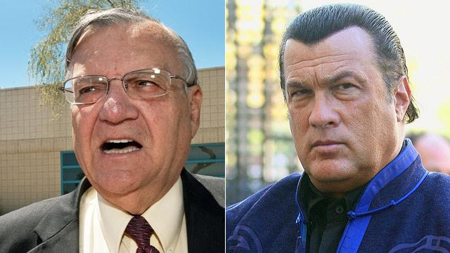 Seagal Calls Arpaio Posse Critics 'Embarrassment to Human Race'