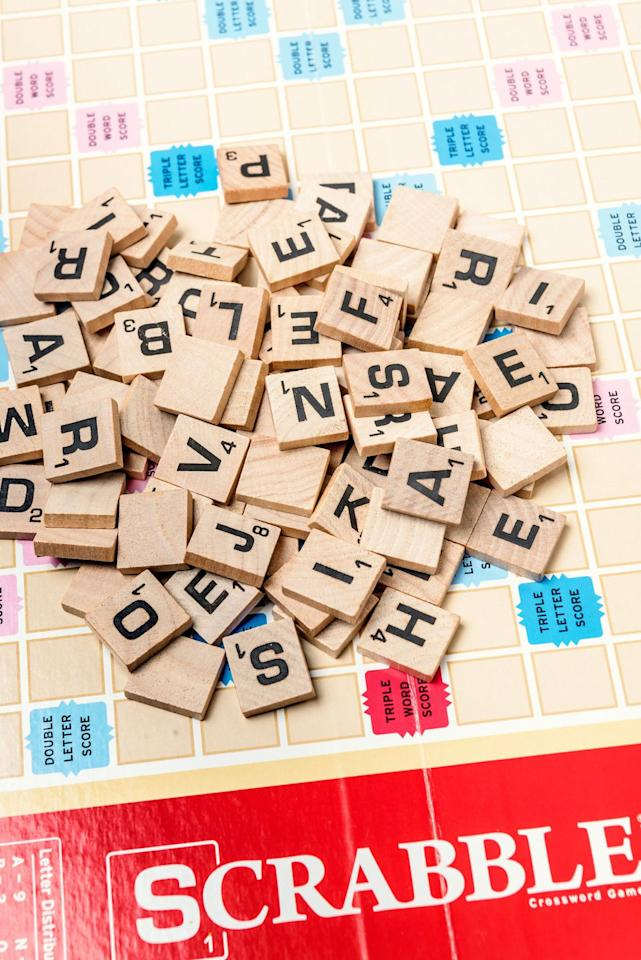<p>Expertly placed on a double- or triple-letter bonus, teeny words like QI, JO, XI, XU, AX, OX, EX, and ZA can net you 20-plus points. They also come in handy for getting rid of excess vowels or creating stepping stones for your next turn. Experts will memorise lists of them, but spelled-out English and Greek letters (like ZEE for Z and CHI) count, as well as expression sounds like UM and HMM. </p>