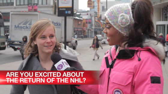 Are you excited about the return of the NHL?