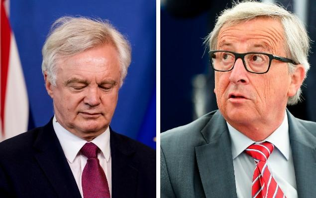 David Davis is in Brussels to negotiate the terms of Brexit with the EU - AP/AFP