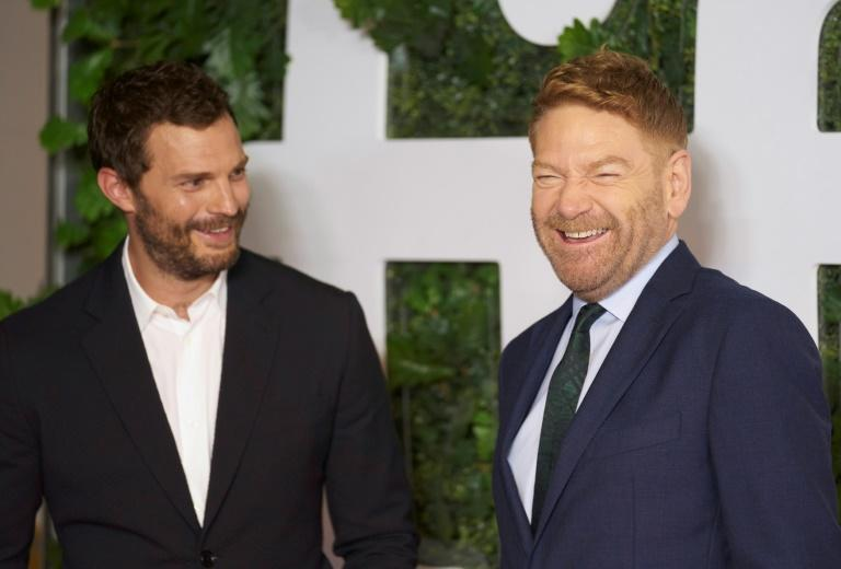 """""""Belfast"""" starring Jamie Dornan and directed by Kenneth Branagh has earned rave reviews and a raucous standing ovation at the Toronto film festival (AFP/Geoff Robins)"""