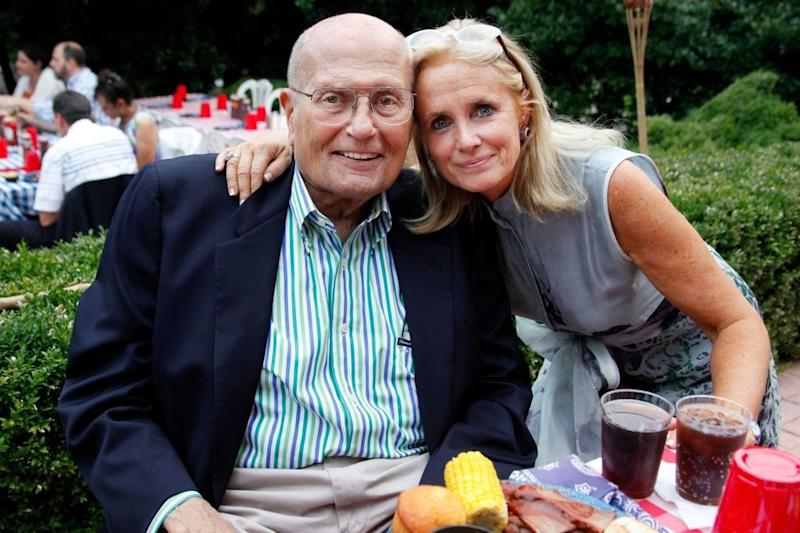 Late Rep. John Dingell and his wife Rep. Debbie Dingell | Rebecca D'Angelo/For the Washington Post/Getty Images