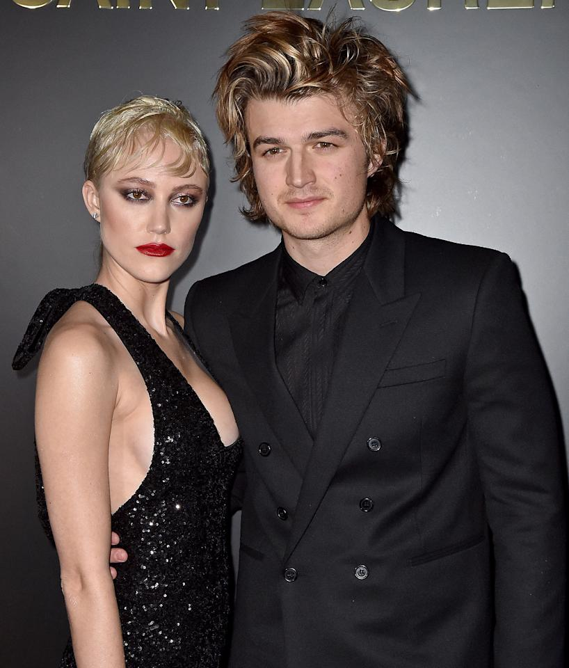 Joe Keery took a good thing, dunked it in hair dye, and made it even better.