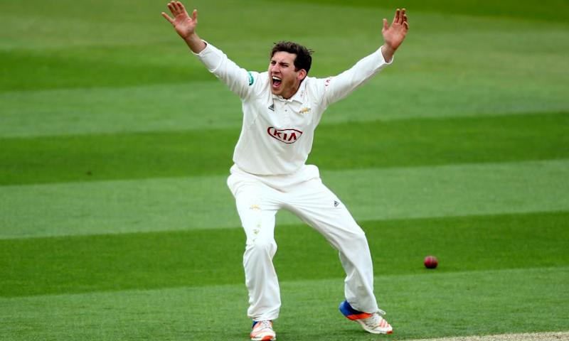 Zafar Ansari of Surrey and England pictured in a County Championship game this month.