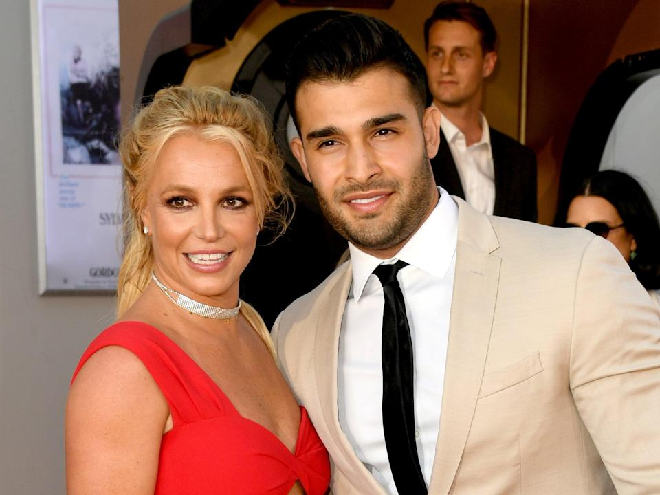 Britney Spears's boyfriend reportedly helping 'boost her confidence' for upcoming conservatorship hearing (Getty Images)