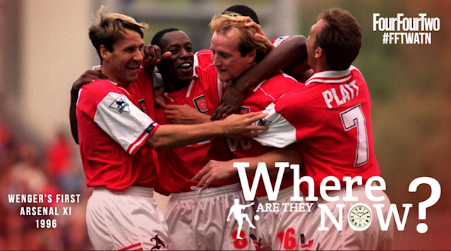Amit Katwala remembers the side that started the Frenchmans first game in charge of the Gunners more than two decades ago