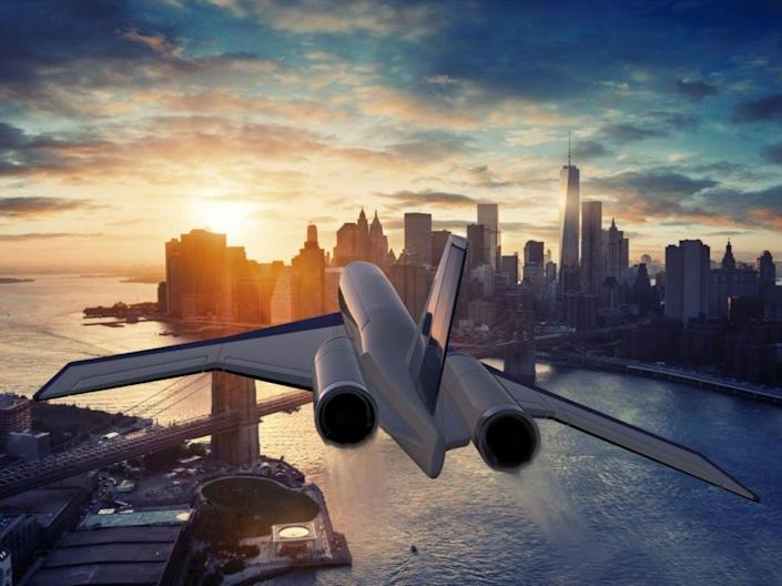 Spike Aerospace's supersonic jet (Spike Aerospace)