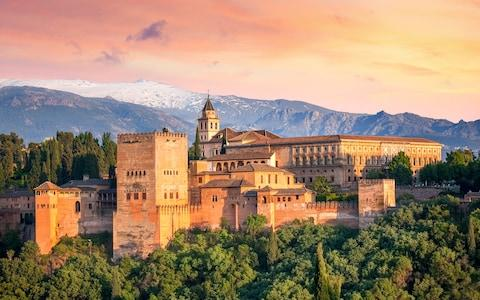 The Alhambra palace - Credit: GETTY