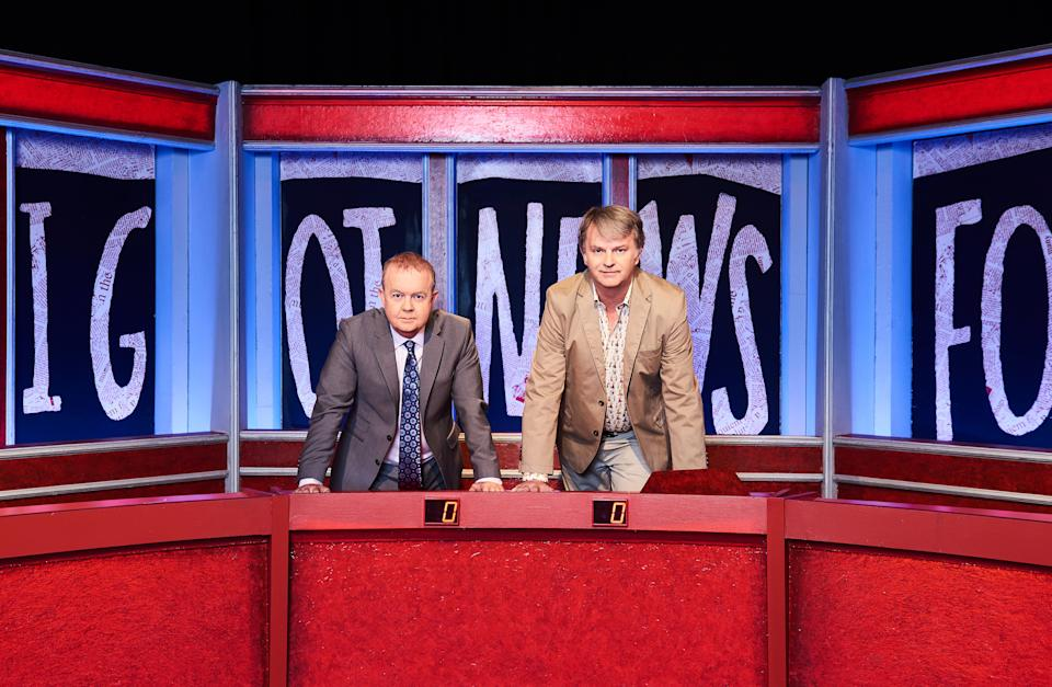 Have I Got News For You captains Ian Hislop and Paul Merton. (Ray Burmiston)