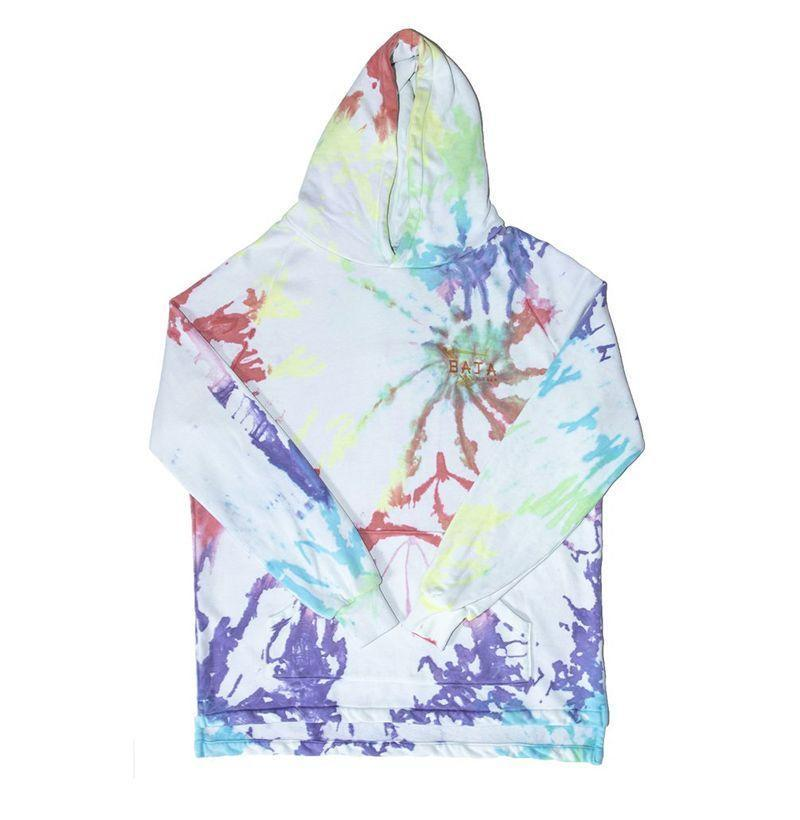 """<p><strong>Baja East</strong></p><p>bajaeast.com</p><p><strong>$250.00</strong></p><p><a href=""""https://bajaeast.com/collections/pride/products/bi-level-tee-in-tie-dye-sunset-tie-dyee"""" rel=""""nofollow noopener"""" target=""""_blank"""" data-ylk=""""slk:Buy"""" class=""""link rapid-noclick-resp"""">Buy</a></p><p>Baja East is donating 20 percent of proceeds to the <a href=""""https://bornthisway.foundation/"""" rel=""""nofollow noopener"""" target=""""_blank"""" data-ylk=""""slk:Born This Way Foundation."""" class=""""link rapid-noclick-resp"""">Born This Way Foundation.</a></p>"""