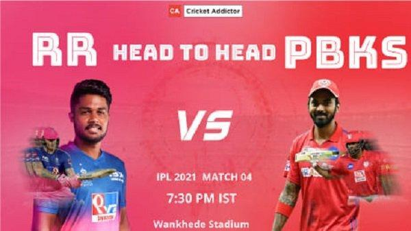 Rajasthan Royals, Punjab Kings, RR vs PBKS, Head-to-Head