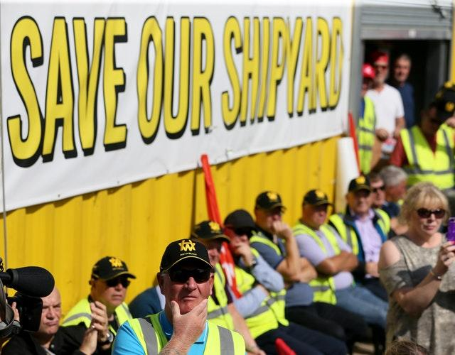Harland and Wolff shipyard campaign