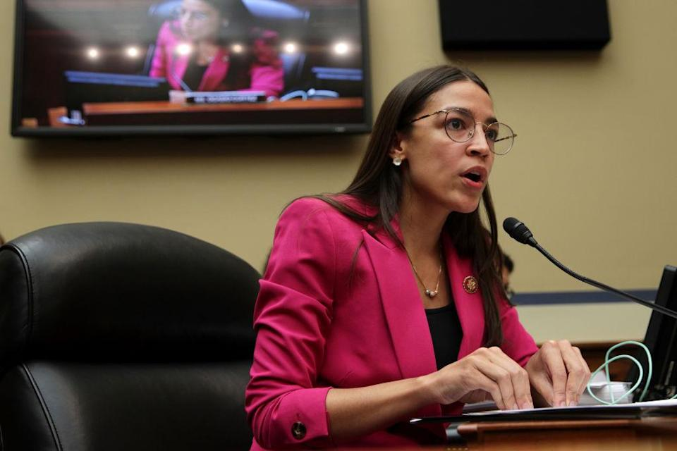 U.S. Rep. Alexandria Ocasio-Cortez (D-NY) (Photo by Alex Wong/Getty Images)