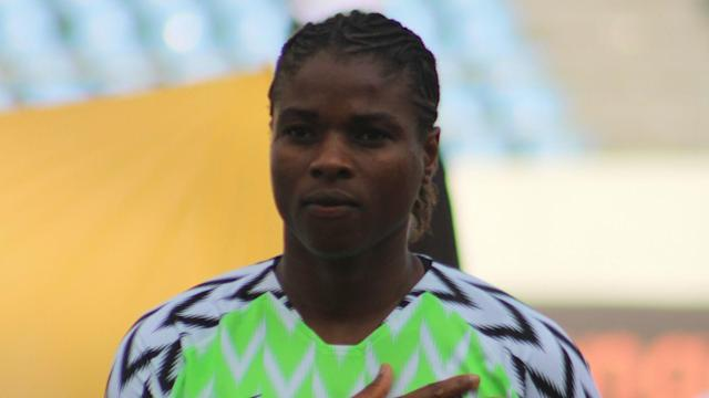 The Nigeria women's captain is demanding her side be paid the same as their male's counterparts