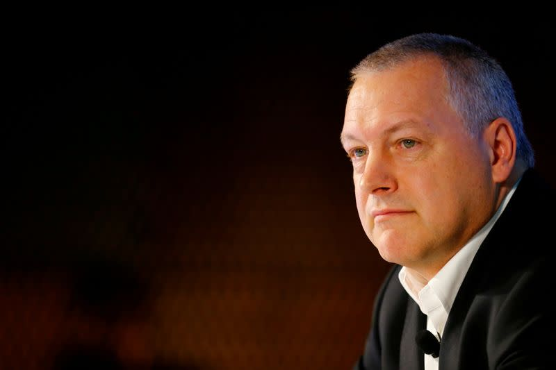 FILE PHOTO: Andreas Schierenbeck, CEO of German energy utility company Uniper SE