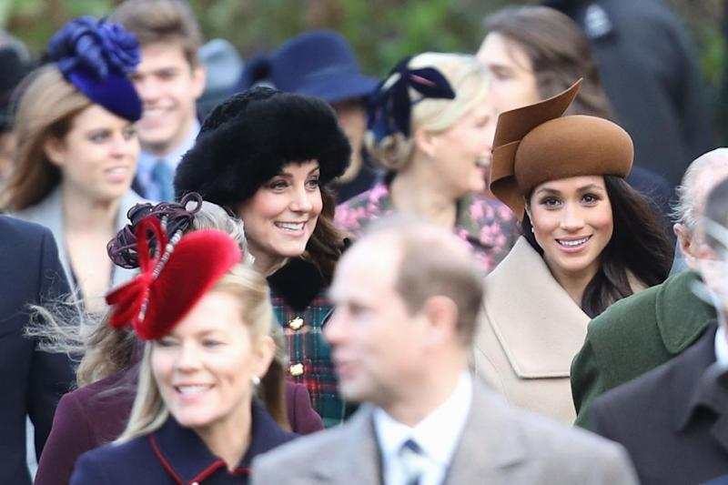 The duo live just metres from each other at Kensington Palace. Photo: Getty Images
