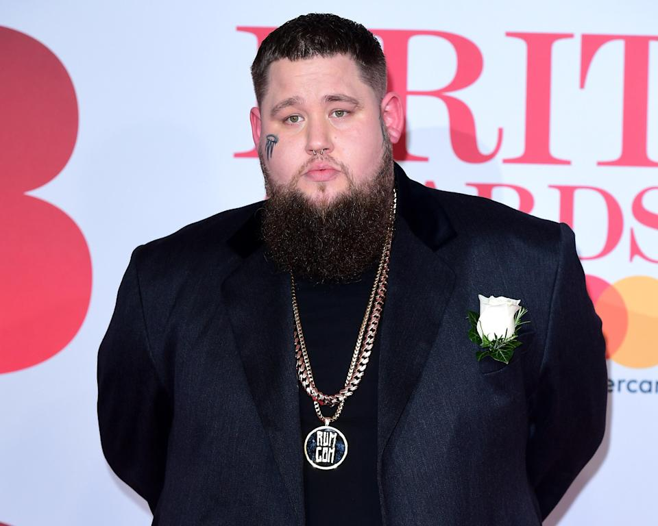 Rag'n'Bone Man attending the Brit Awards. (PA)