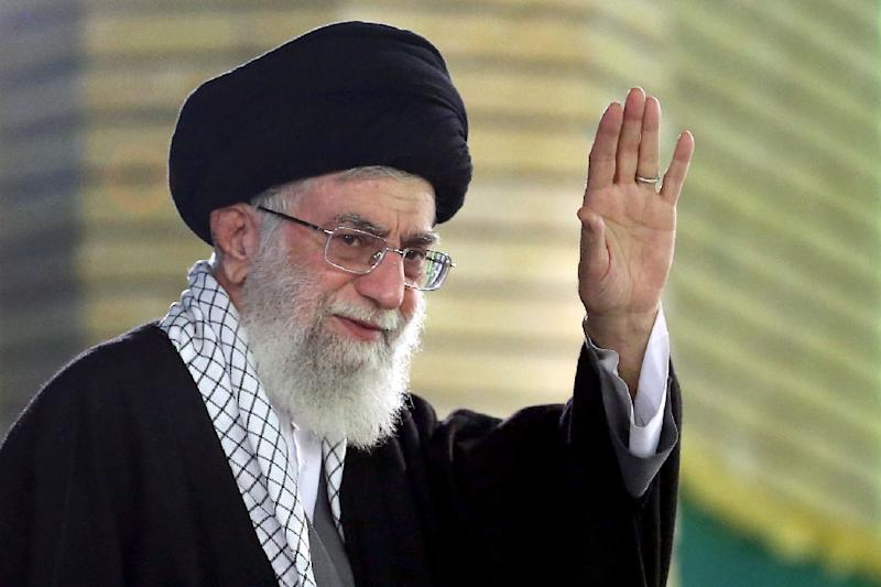 """Iran's supreme leader Ayatollah Ali Khamenei says negotiations with the US are """"on the nuclear issue and nothing else"""""""