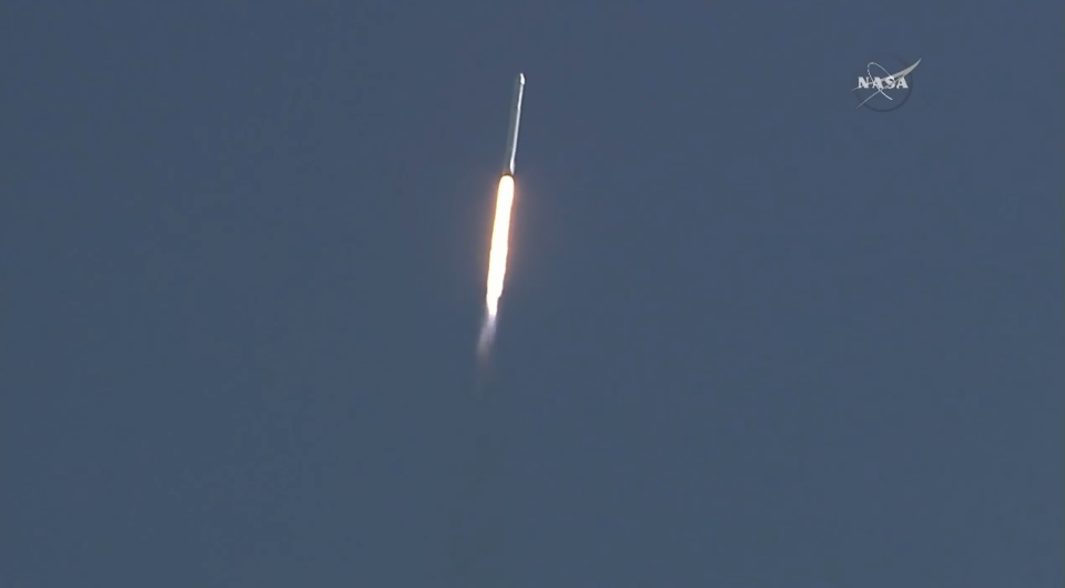 spacex launch third attempt falcon 9
