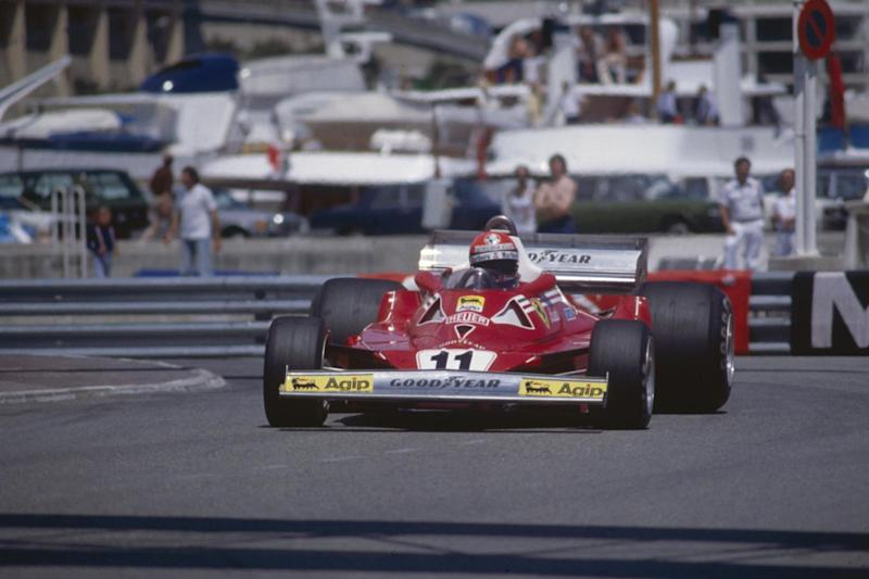 Niki Lauda during the Monaco Formula One Grand Prix in 1977 (Getty Images)