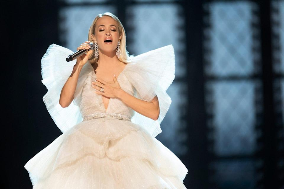 For the first time since 2005, Carrie Underwood won't compete for Female Artist of the Year at the ACM Awards.