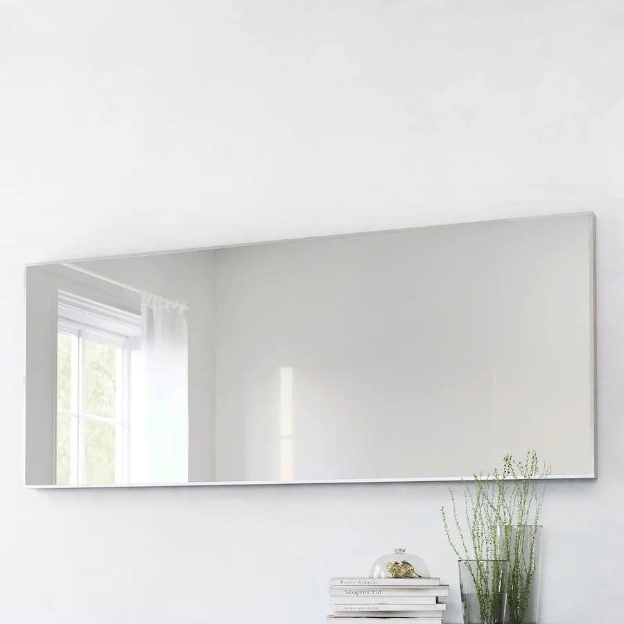 <p>The <span>Ikea HOVET Mirror</span> ($129) can be mounted vertically or horizontally. </p>