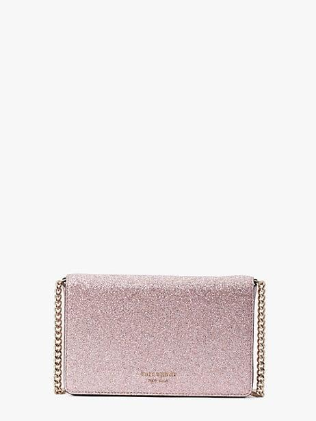 <p><span>Spencer Glitter Chain Wallet</span> ($188)</p>