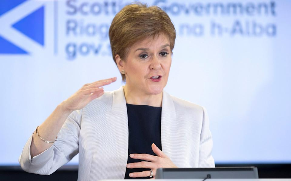 Nicola Sturgeon said she had little choice but to impose new restrictions - Pool/Reuters