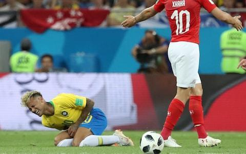 "Four years after they held his shirt up during the anthems in the 7-1 defeat to Germany, Brazil still feel like the Neymar Show, with the manager forced to deny he has told the team's global star to be less selfish against Costa Rica in game two. ""It's a lie,"" declared Adenor Bacchi, better known as Tite, at the Saint Petersburg Stadium where Brazil will endeavour to improve on their 1-1 draw with Switzerland. In a media conference dominated by the world's most expensive player, Tite was interrogated about suggestions back in Brazil that Neymar played his own private game against the Swiss and was asked to change his ways against Costa Rica. ""I don't like to personalise it, but absolutely not,"" Tite told a Brazilian reporter. ""The information you have is not true, not to say - it's a lie, that didn't happen. All the players have the responsibility of playing for the collective but also being an individual. I'm not going to take away from him his ingenuity in the final third of the field - his genius. You have my word - this is not true. ""The last third of the pitch - you have to go there, you have to create. I'm not going to take that away from anyone. The full-back [in you own team]? Yes, you have to keep an eye on him. But you have to create."" To find Neymar at the centre of attention four years after he missed the calamitous loss to Germany in Belo Horizonte through injury is hardly surprising, given his subsequent €222 million move to Paris Saint-Germain, and the constant dramas around his happiness, or otherwise, in France. The most heavily-branded player in Brazilian football history has also just returned from a foot fracture and limped out of training this week, only to return in time for Tite to name an unchanged team for Saint Petersburg. Neymar was fouled 10 times by Switzerland Credit: barcroft images With all this going on, you might forget that Brazil can also call on Gabriel Jesus, their first-choice centre-forward, Roberto Firmino, who replaced Jesus in Rostov-on-Don, Philippe Coutinho, who scored a sumptuous curled goal against Switzerland, and Douglas Costa, who many thought should have come on for Neymar in the opening Group E match. Brazil qualified for this World Cup impressively with 10 wins, two draws and 30 goals to start the long process of recovering from the mortification of 2014. Yet a failure to beat Costa Rica would extend to four their run of World Cup matches without a victory, matching the barren spell of 1974-78. Only in Pele's homeland could a sequence of four win-less game be cast as a looming disaster. Tite's team, on the other hand, are unbeaten in 13 while Costa Rica have lost seven of their last nine. Tite, though, has plainly staked his reputation on his household name and crowd-pleaser - Neymar - who was fouled 10 times by Switzerland, from a total of 19 fouls against the Selecao. Brazil were sufficiently rattled by that game to claim VAR was underused, but now Tite is retreating from that position. He says: ""I don't want any kind of advantage, we don't need an advantage, we don't want an advantage. We want to say we won because we played better. We respect the opponent."" Costa Rica's coach, Oscar Ramirez, promised to play fair. ""People have tried to stop him [Neymar] a little aggressively,"" Ramirez said here. ""Maybe we'll cover him with two players. Of course we don't want to see any unfair challenges against him."" Tite, meanwhile, insists Neymar's hobbling in mid-week was not a recurrence of his old injury: ""No, he had a blow there, but I think it was three-and-a-half months before he played his first game of 90 minutes. There's a science and a lot of tranquility here. It's a minimum of five matches you need to be spot on, and he's already speeded up the process. There's an evolution going on here, don't worry. test - do not delete ""You just speed up the steps, there's no sacrifice. The coach is not going to play with a player's health. That's too high a price to pay. No way, no compromise."" Despite the draw with Switzerland, the mood in Brazil remains largely sanguine. England, it seems, are not the only side making an effort to communicate with their public directly, with social media posts multiplying. Tite said: ""Of course the love of the fans brings a very strong emotional component and of course we're happy with that. Parallel to that, there is a very high level of concentration. You have to be very focused and level-headed. Over the 90 minutes you have to bring the love of the fans and use it to play with lucidity. With emotion and reason."" Brazil in training Credit: afp Brazil's rotating captaincy falls to Thiago Silva, the leader four years ago on home soil, who says: ""The fight is on."" The Brazilian media circus retains its capacity to amaze and delight. Among the questions put to Thiago was how the team are coping with Saint Petersburg's 'White Nights', in which, during May and June, darkness never quite seems to fall. With curtains might seem the obvious answer, but Thiago said: ""We were told to turn off the ipad and cellphone to fall asleep; talking to friends and family in Brazil - this is going to give us sleeping problems."" Presumably the only topic of conversation is Neymar. World Cup 2018 