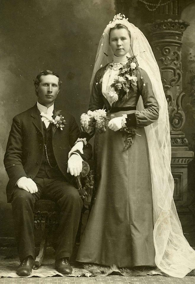 "<p>Co-owner Frank Maresca came up with the idea for the exhibit having initially considered creating a book with the same name. (Pictured: Vintage wedding portraits from ""I Do, I Do"" exhibit) </p>"