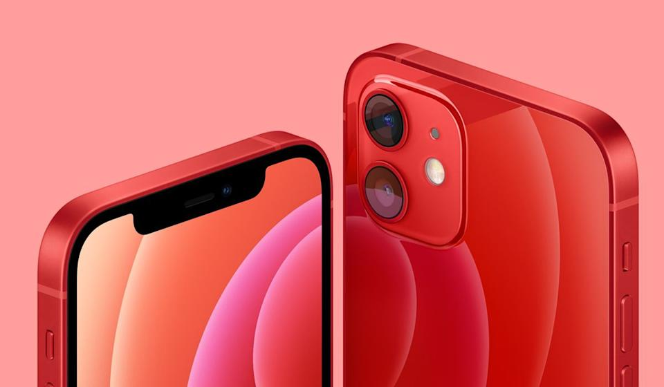 Last year's flagship iPhone is this year's bargain. Get the iPhone 12 for $600, then get a $200 rebate for a net cost of just $400. (Photo: Apple)