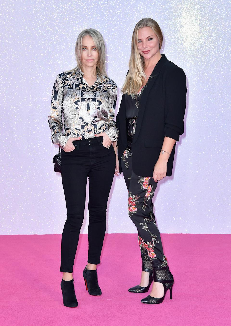 Natalie Appleton and Samantha Womack had their suspicions that Denise van Outen was Fox. (Photo by Gareth Cattermole/Getty Images)