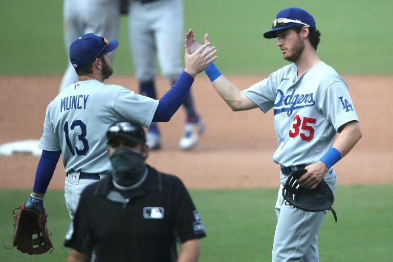 Dodgers become first to clinch spot in postseason