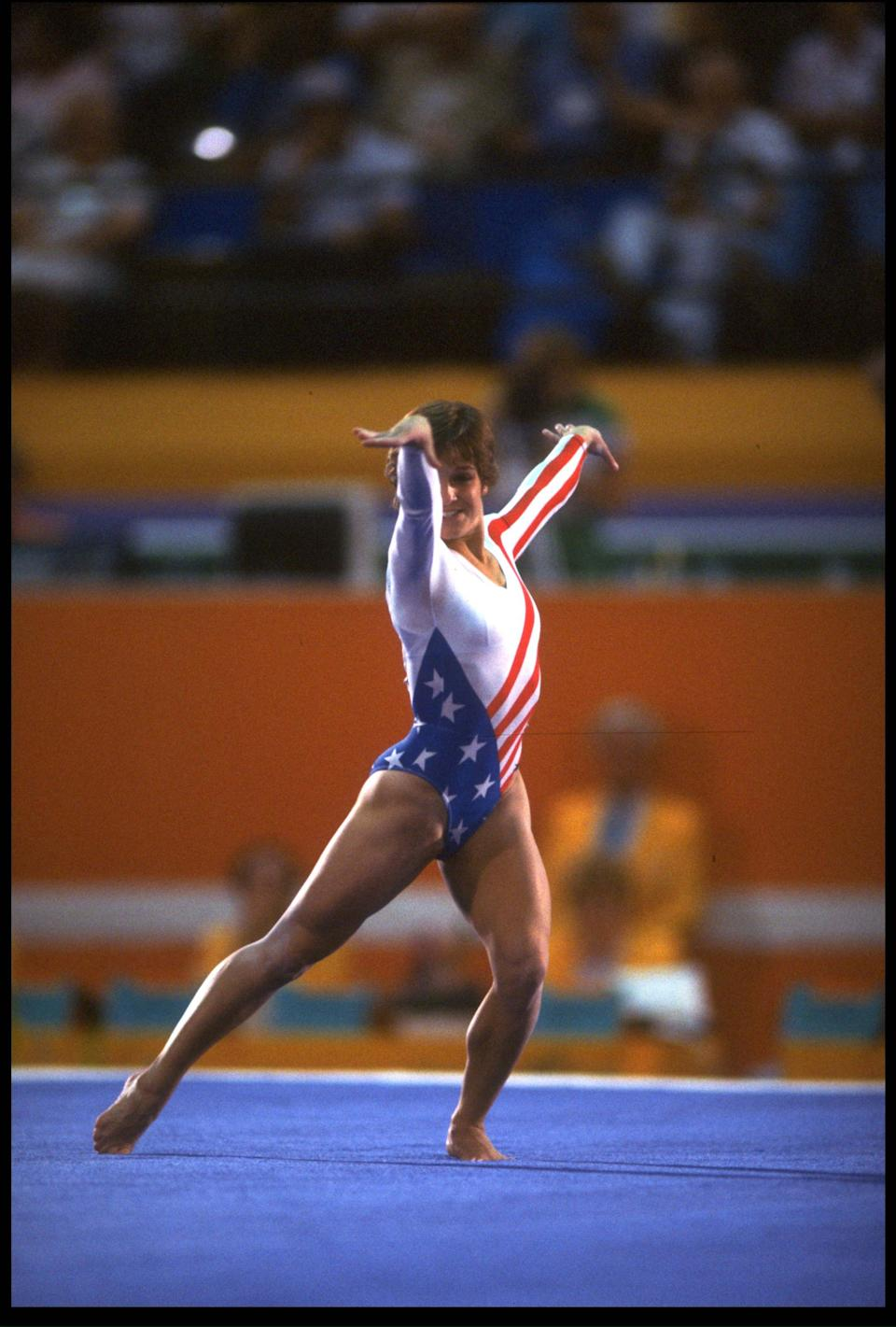 No other name would be fit for America's first sweetheart other than Mary Lou Retton. In 1984, Retton was faced with an Olympics without the Soviet Union, which boycotted the Los Angeles venue, yet the U.S. gymnast was up against the dominating Eastern European athletes. Retton earned a perfect 10 in the vault event and was the first American to earn gold in gymnastics.