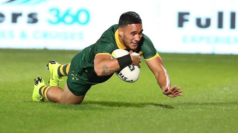 Valentine Holmes is back in Australia to resurrect his NRL career in North Queensland