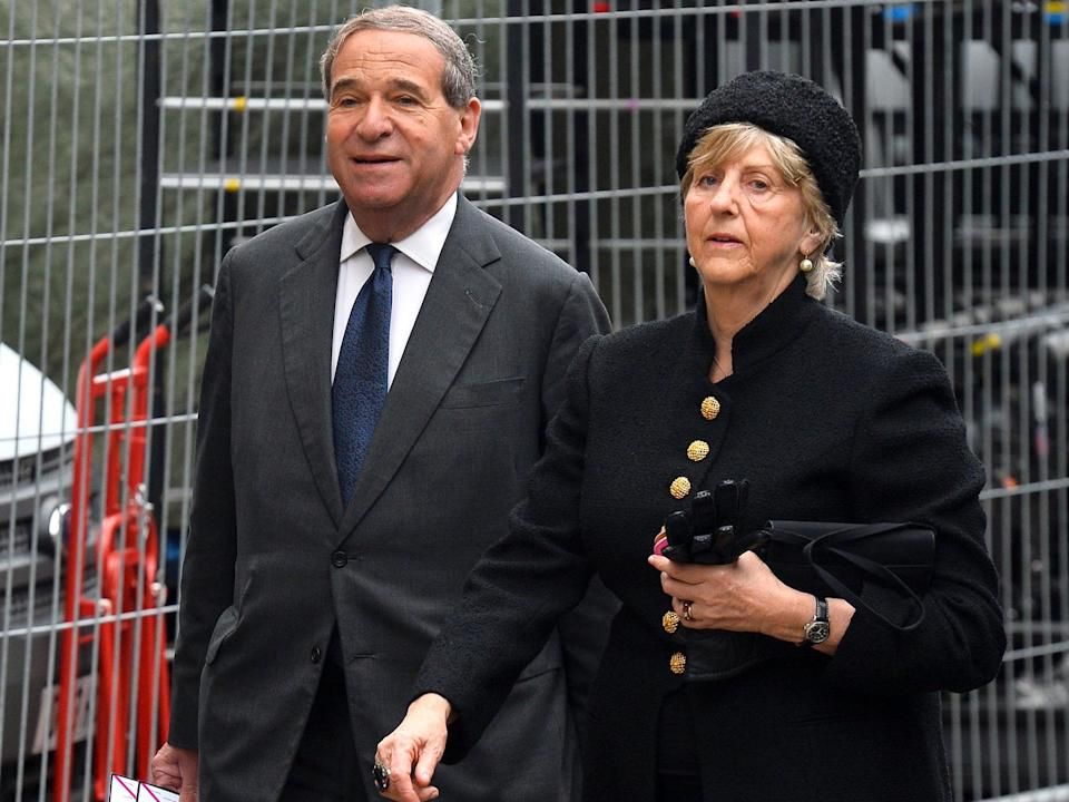 Leon Brittan, and his wife, Diana, who says Scotland Yard should be held accountable (AFP via Getty Images)