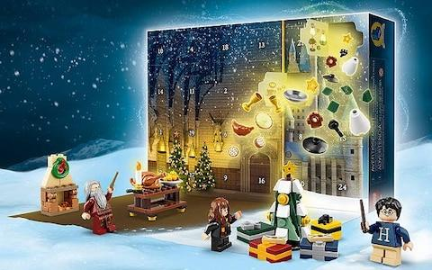 LEGO Harry Potter Advent Calendar with Minifigures - Credit: John Lewis & Partners