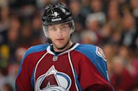 "<b>Matt Duchene:</b> ""Prayers going out to those affected by the Aurora shooting last night. Make sure you give your loved ones a hug today and say a prayer "" (Photo by Doug Pensinger/Getty Images)"