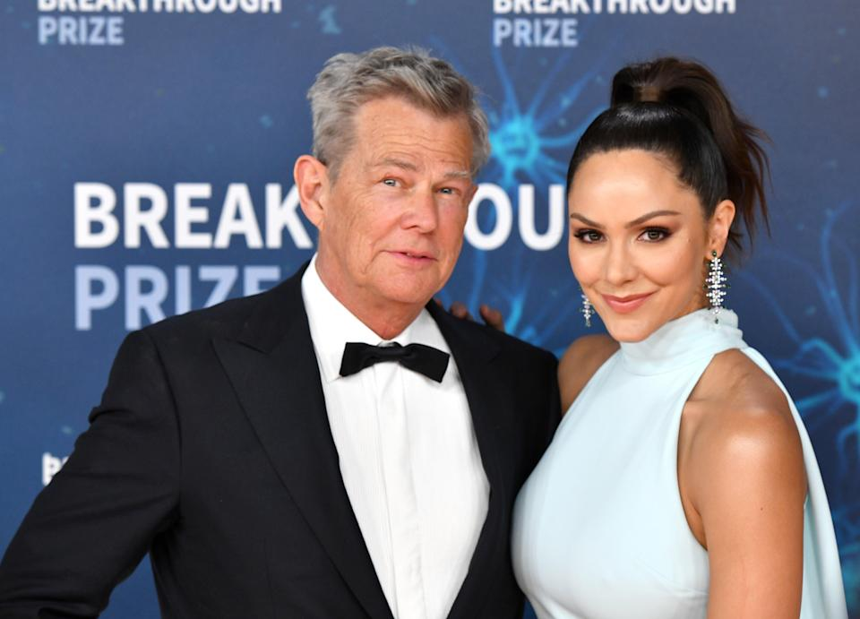 Katherine McPhee and David Foster (Getty Images  for Breakthrough Prize)