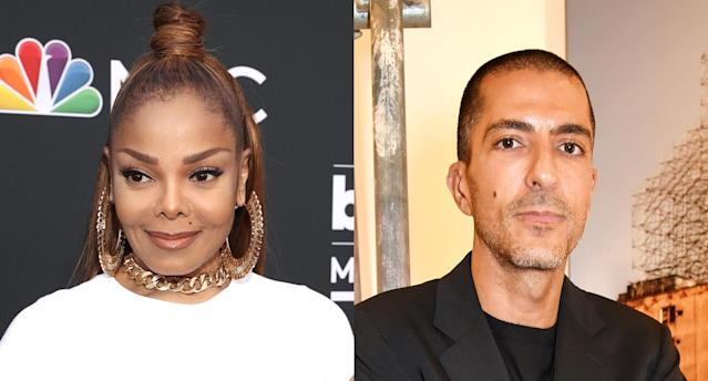 Janet Jackson and Wissam Al Mana. (Photo: Getty Images)