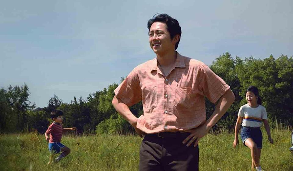 "<p>Yeun was a charmer even when he was first noticed as Glen on <em>The Walking Dead. </em>So what a treat it's been to see his rise in the past few years in movies like <em>Burning, </em>alongside fellow nominee Lakeith Stanfield in <em>Sorry To Bother You, </em>and, now culminating in a wonderfully layered role as a father who wants more in <em>Minari. </em>Yeun has the kind of talent where it feels like this could be the first of many future nominations. </p><p><a class=""link rapid-noclick-resp"" href=""https://www.amazon.com/Minari-Steven-Yeun/dp/B08WLZ3XMH/ref=sr_1_1?dchild=1&keywords=minari&qid=1615828170&s=instant-video&sr=1-1&tag=syn-yahoo-20&ascsubtag=%5Bartid%7C2139.g.35839790%5Bsrc%7Cyahoo-us"" rel=""nofollow noopener"" target=""_blank"" data-ylk=""slk:Stream Minari Here"">Stream <em>Minari </em>Here</a></p>"
