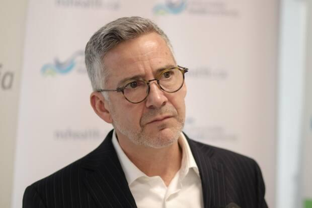 Dr. Brendan Carr is the president and CEO of Nova Scotia's health authority. (Robert Short/CBC - image credit)