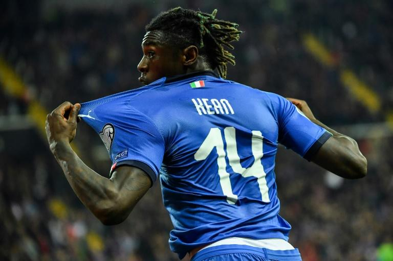Remember the name: Moise Kean marked his maiden international start with a goal