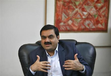 Gautam Adani speaks during an interview in the western Indian city of Ahmedabad September 24, 2012.