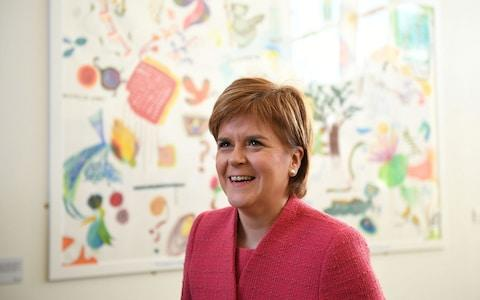 sturgeon  - Credit: Reuters