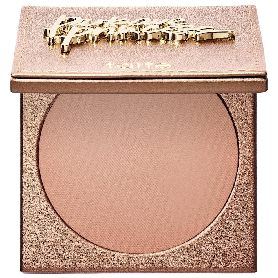 <p>The <span>Tarte Amazonian Clay Matte Waterproof Bronzer</span> ($30) is pigmented and lasts all day long.</p>
