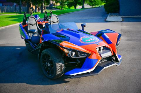 "Polaris Slingshot Partners with the Florida Gators Offering Fans a Once-in-a-Lifetime Chance to Experience the ""Ultimate Joyride"" During the Gator Walk"