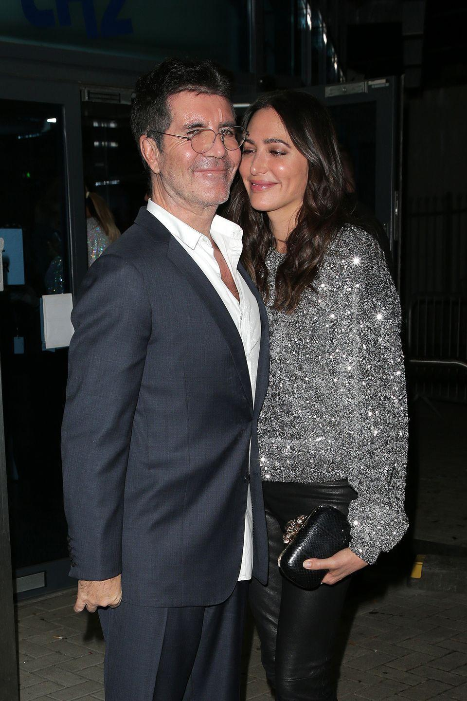 """<p><strong>Age gap:</strong> 18 years</p><p>Simon and Lauren <a href=""""https://www.goodhousekeeping.com/life/entertainment/a20900420/simon-cowell-partner-lauren-silverman/"""" rel=""""nofollow noopener"""" target=""""_blank"""" data-ylk=""""slk:started secretly dating"""" class=""""link rapid-noclick-resp"""">started secretly dating</a> while she was married to her first husband, real estate mogul Andrew Silverman. However, after finding out she was pregnant with Simon's son in 2013, the two were forced to go public with their relationship. </p>"""